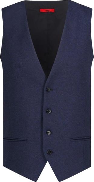 Niebieska kamizelka Hugo Boss z wełny