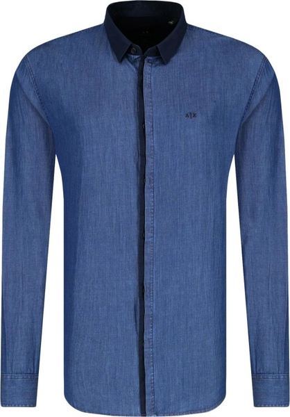 Niebieska koszula Armani Jeans