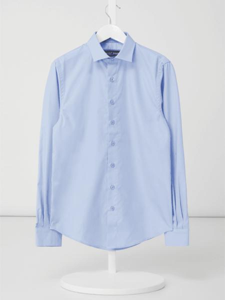 Niebieska koszula dziecięca G.o.l. z bawełny