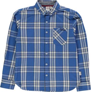 Niebieska koszula dziecięca Lee Cooper