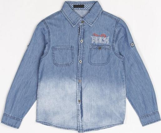 Niebieska koszula dziecięca Multu z jeansu