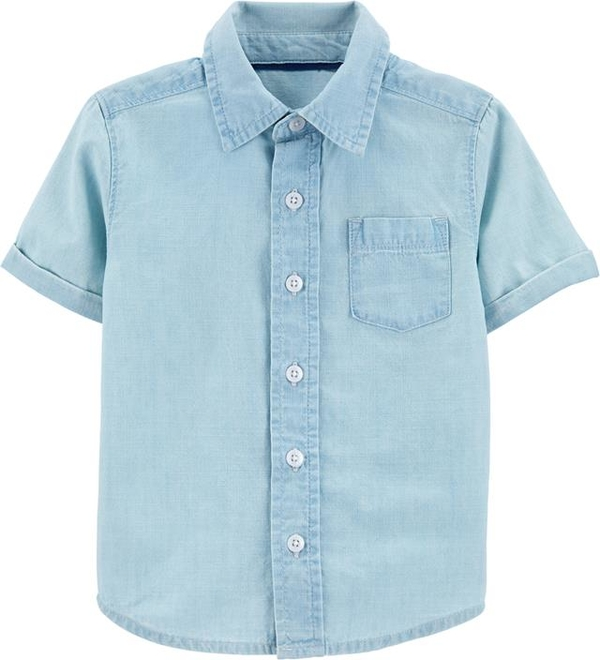 Niebieska koszula dziecięca OshKosh