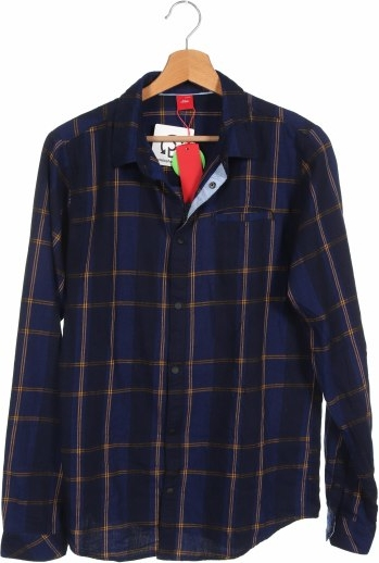 Niebieska koszula dziecięca S.Oliver w krateczkę