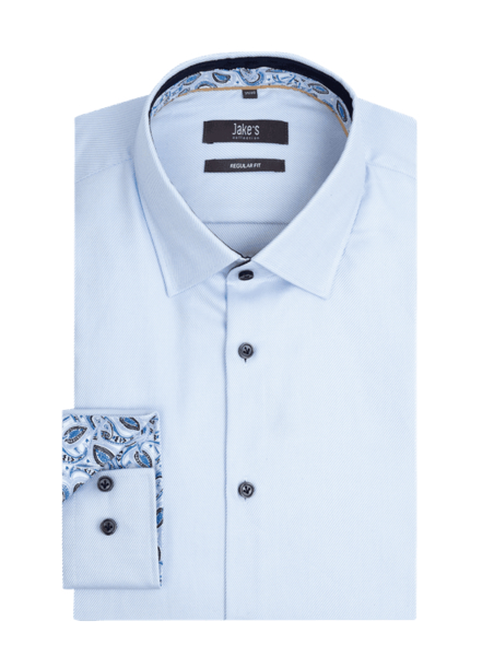 Niebieska koszula Jake*s Men z długim rękawem