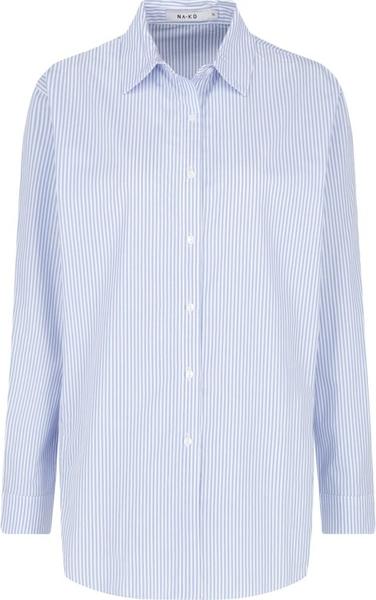 Niebieska koszula NA-KD