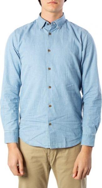 Niebieska koszula Only & Sons z bawełny