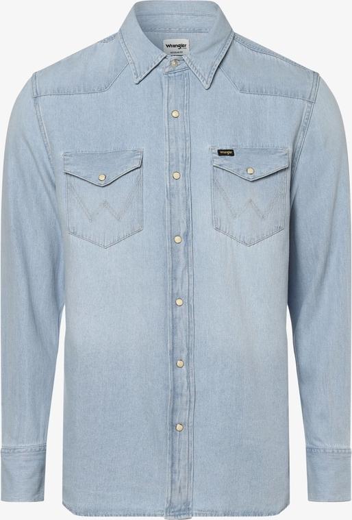 Niebieska koszula Wrangler