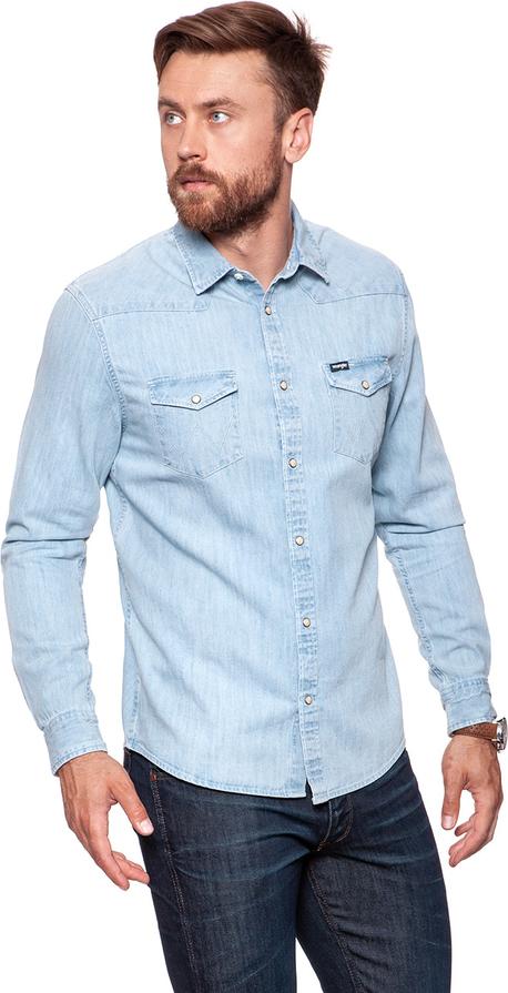 70% ZNIŻKI Koszula Wrangler z długim rękawem Odzież Męskie  IAzz3