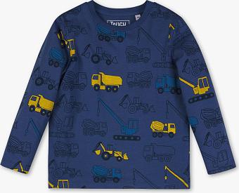 Niebieska koszulka dziecięca Palomino dla chłopców