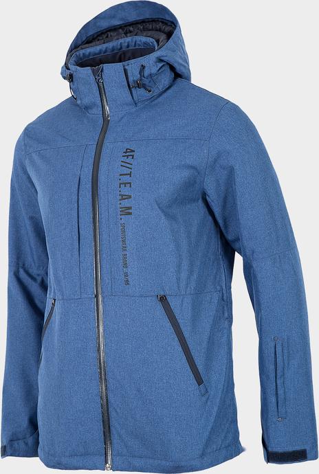 Niebieska kurtka 4F krótka z plaru