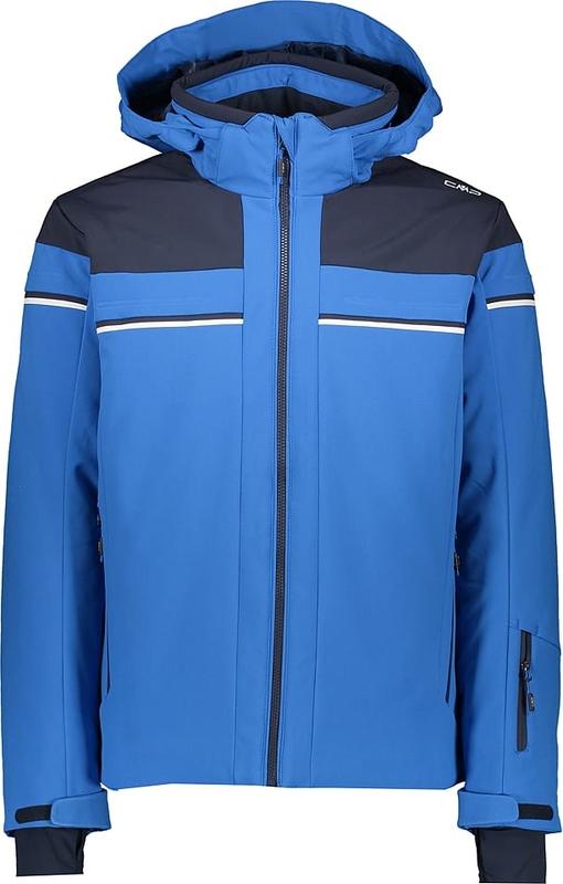 Niebieska kurtka CMP z tkaniny