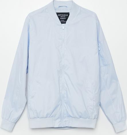 Niebieska kurtka Cropp krótka w stylu casual