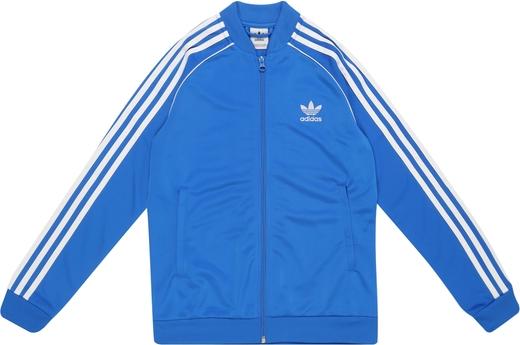 Niebieska kurtka dziecięca Adidas Originals