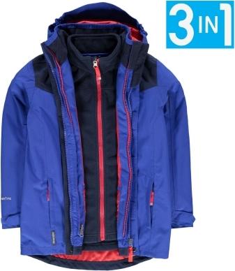 Niebieska kurtka dziecięca K100 Karrimor