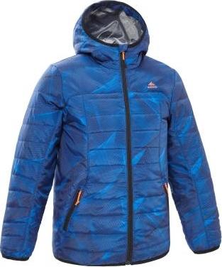 Niebieska kurtka dziecięca Quechua