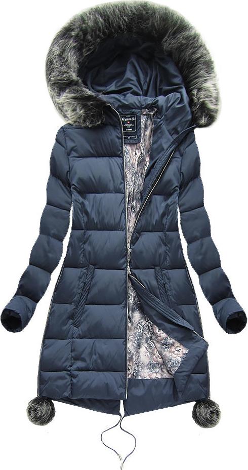 Niebieska kurtka g-stone w abstrakcyjne wzory