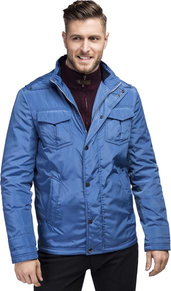 Niebieska kurtka Giacomo Conti