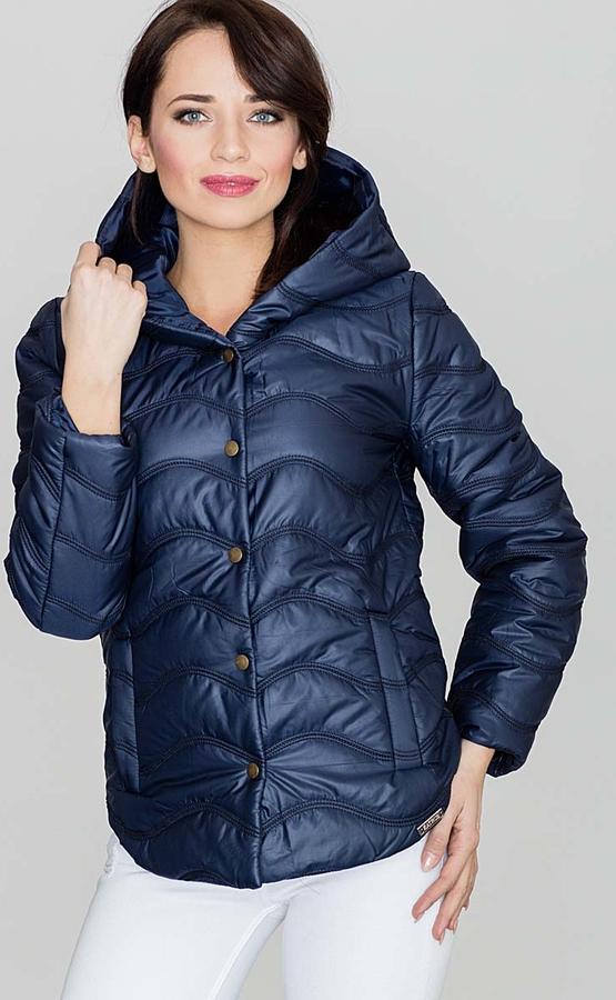 Niebieska kurtka Katrus w stylu casual