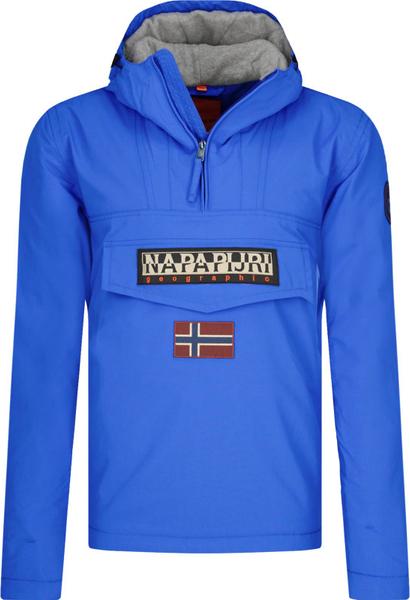 Niebieska kurtka Napapijri krótka