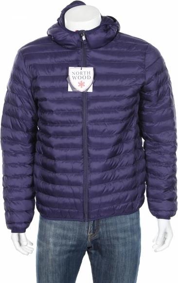 Niebieska kurtka North Wood w stylu casual