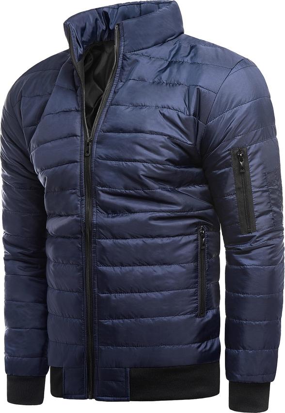 Niebieska kurtka Risardi krótka