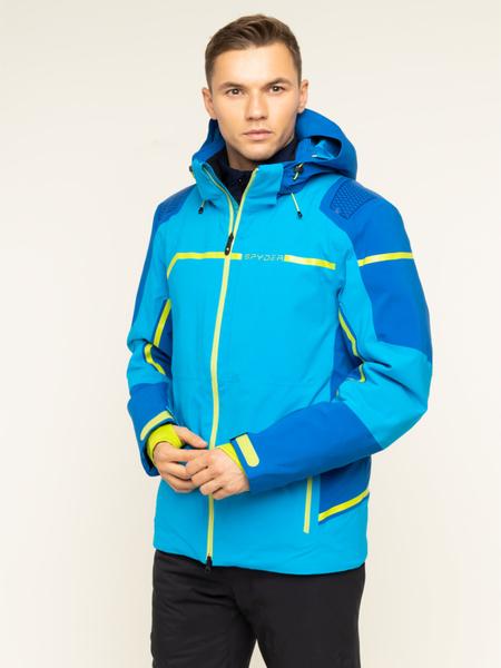 Niebieska kurtka Spyder