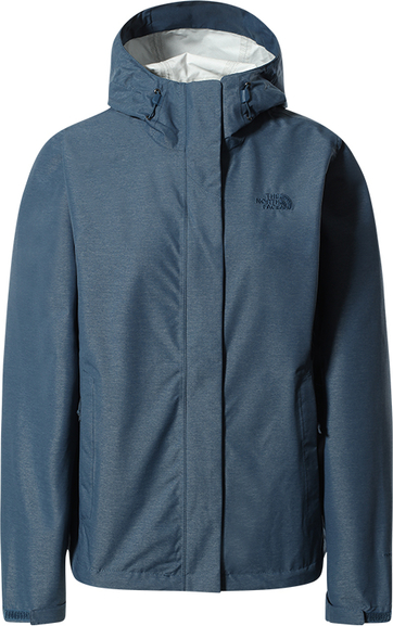 Niebieska kurtka The North Face w sportowym stylu