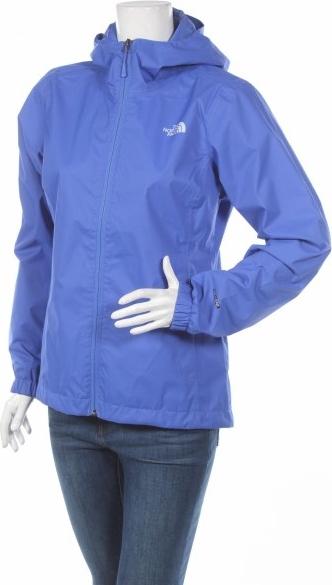 Niebieska kurtka The North Face w stylu casual krótka
