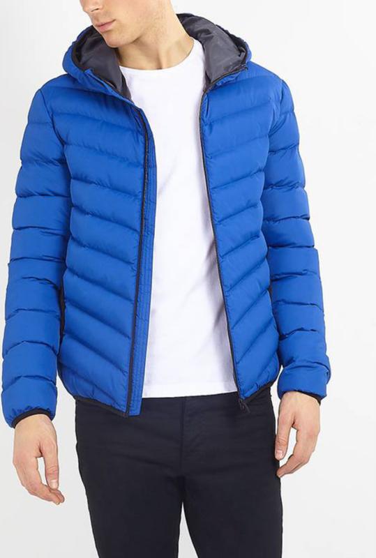 Niebieska kurtka WARESHOP w stylu casual