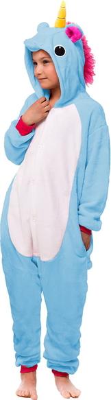 Niebieska piżama Snm dla dziewczynek
