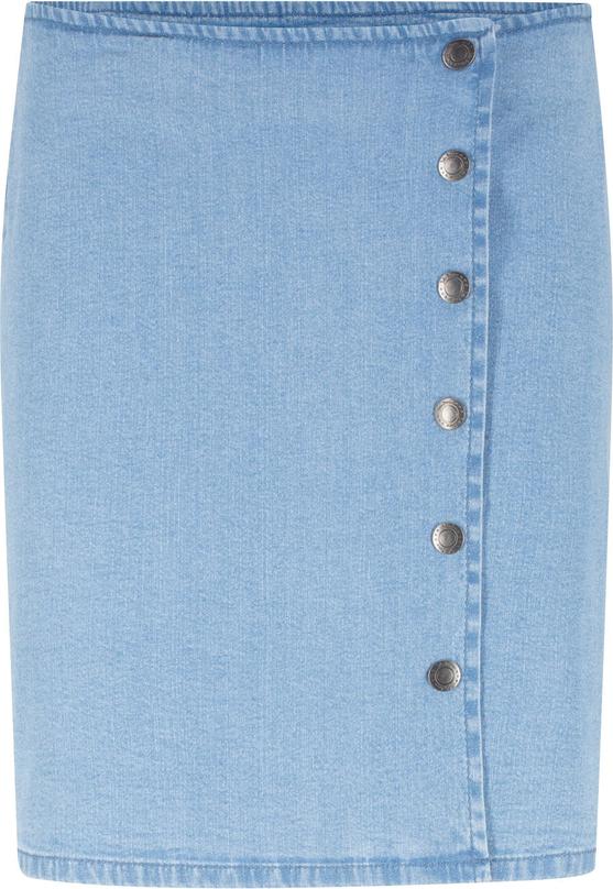 Niebieska spódnica bonprix John Baner JEANSWEAR