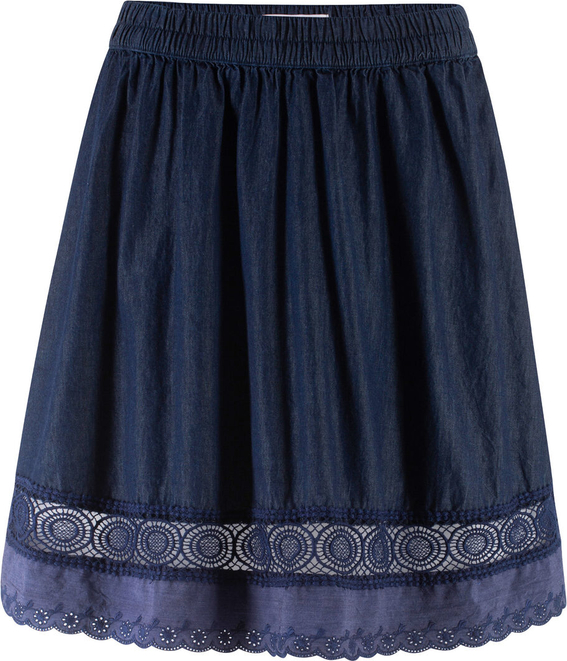 Niebieska spódnica bonprix John Baner JEANSWEAR w stylu casual