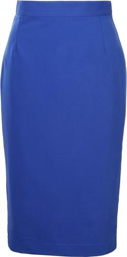 Niebieska spódnica Colett