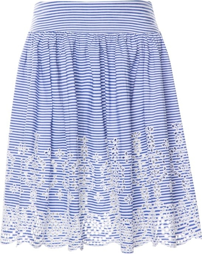 Niebieska spódnica Guess
