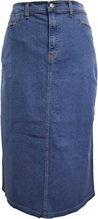 Niebieska spódnica Ice Cool midi