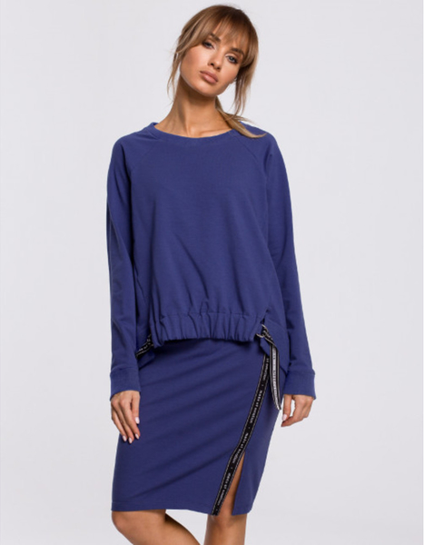 Niebieska spódnica MOE