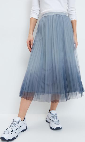 Niebieska spódnica Mohito midi