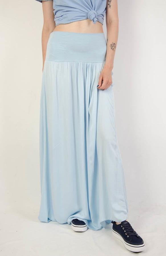 Niebieska spódnica Olika maxi
