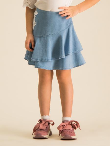 Niebieska spódniczka dziewczęca Primigi