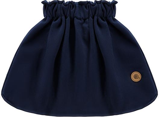 Niebieska spódniczka dziewczęca Tuszyte z bawełny