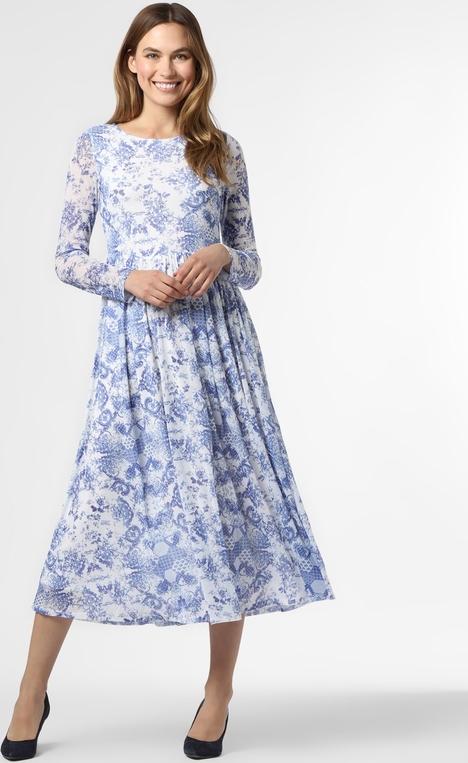 Niebieska sukienka Aygill`s midi