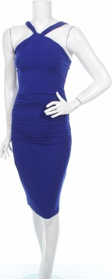 Niebieska sukienka Baukjen.