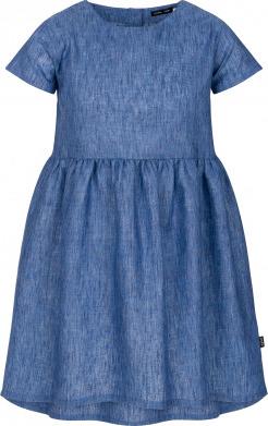 Niebieska sukienka dziewczęca Endo