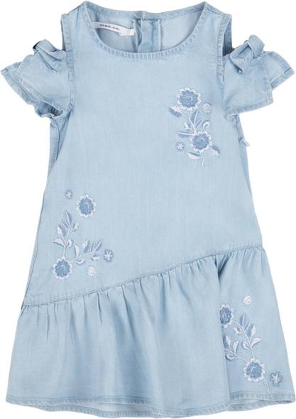 Niebieska sukienka dziewczęca Primigi