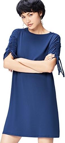 Niebieska sukienka Find