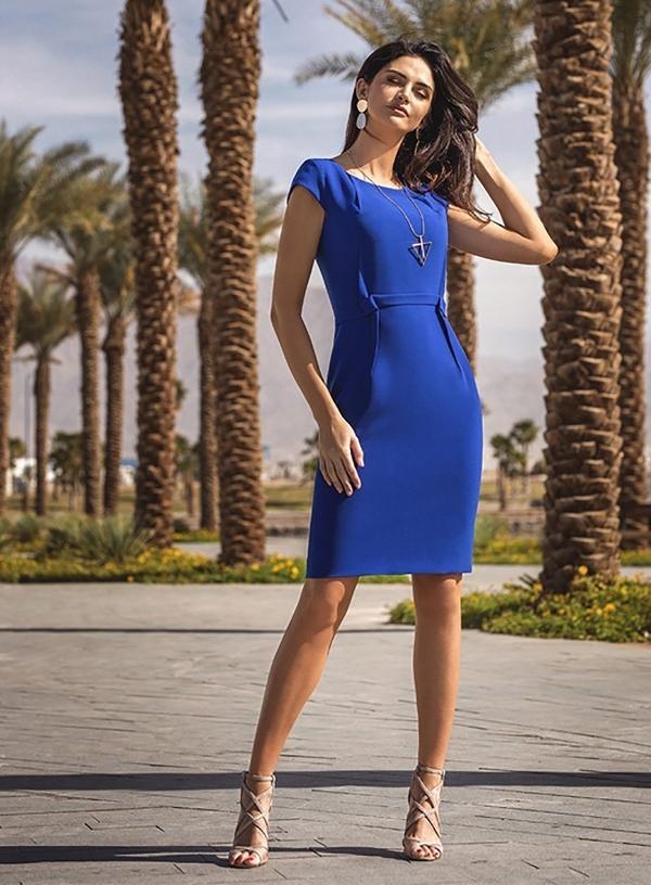 Niebieska sukienka Francesca Antonucci