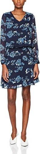 Niebieska sukienka Ichi midi
