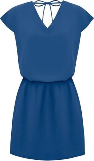 Niebieska sukienka Ivon mini
