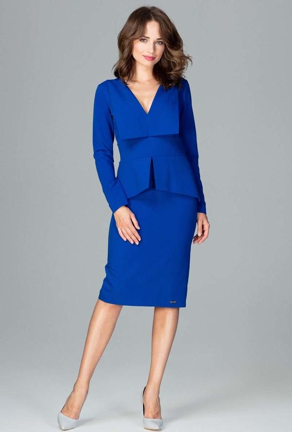 Niebieska sukienka Katrus