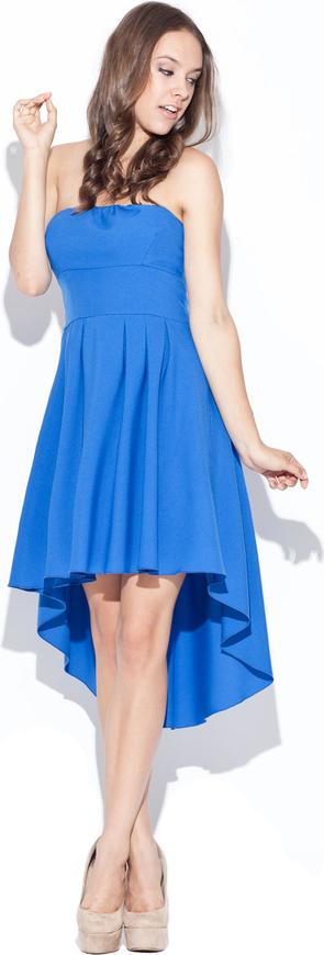 Niebieska sukienka Katrus midi